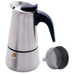 4 személyes INOX kotyogó kávéfőző